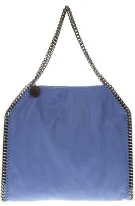 Stella McCartney Falabella Shaggy Deer Tote Light Blue Bag