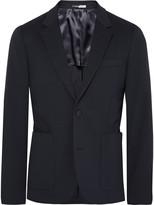 Paul Smith Navy Slim-Fit Stretch Cotton-Blend Blazer