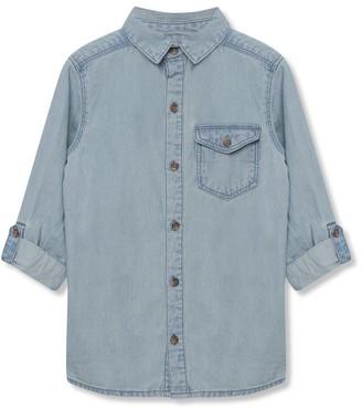 M&Co Denim shirt (3-12yrs)