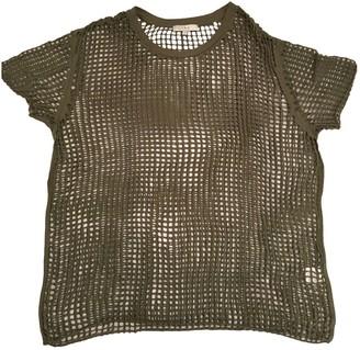 IRO Khaki Cotton Top for Women