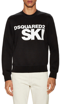 DSQUARED2 Ribbed Graphic Sweater