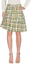 M.Grifoni Denim Knee length skirts - Item 35364113