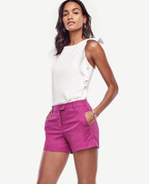Ann Taylor Petite Textured City Shorts