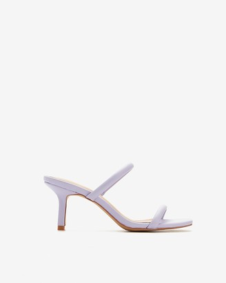 Express Double Band Heeled Sandals