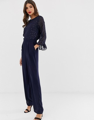Y.A.S flute sleeve jumpsuit