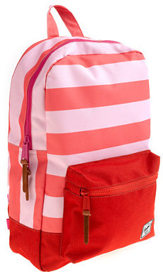 Herschel for crewcuts settlement backpack in pink stripe