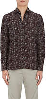 Lanvin Men's Starlight-Print Silk Twill Shirt