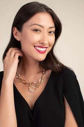 Trina Turk Pave Link Necklace