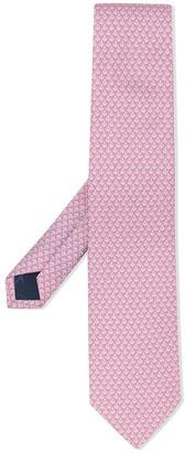 Salvatore Ferragamo Swan Print Tie