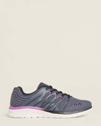 Fila Blue & Black Memory Shadow Sprinter 4 Running Sneakers