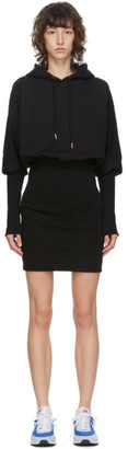 Opening Ceremony Black Hoodie Dress