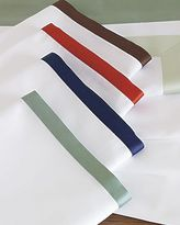 Narrow Border Sheeting in Select Colors