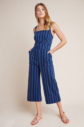 Anthropologie Nicola Jumpsuit By in Blue Size 0