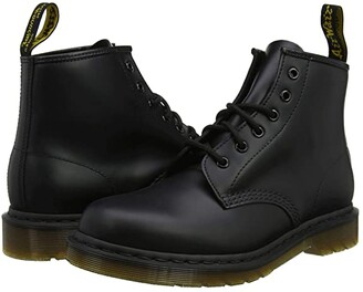 Dr. Martens 101 Smooth Leather (Black Smooth) Boots
