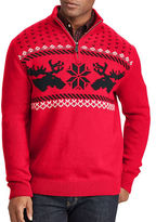 Chaps Big and Tall Christmas Cotton Sweater