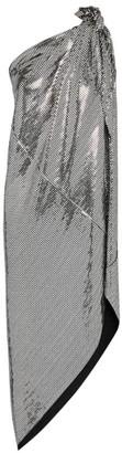 MM6 MAISON MARGIELA Embellished Draped One-Shoulder Dress