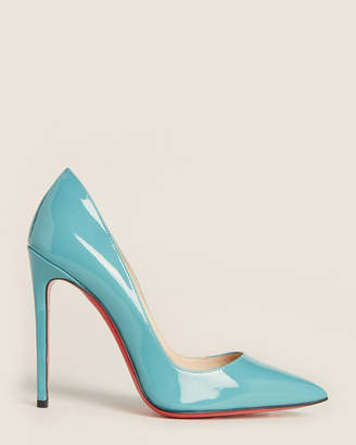 Christian Louboutin Turquoise So Kate 120 Patent Pumps