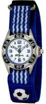 Ravel Children's Blue And White Football Strap Watch