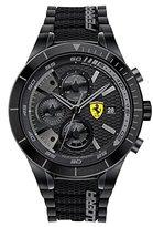 Ferrari Men's 0830262 REDREV EVO Analog Display Japanese Quartz Black Watch