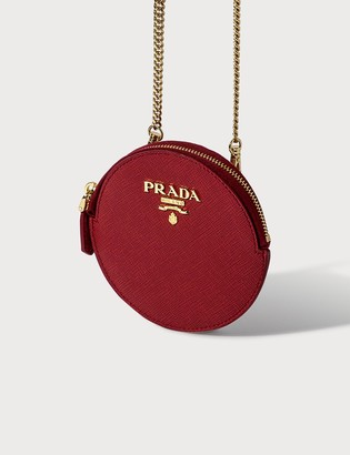 Prada Saffiano Mini Round Bag