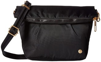 Pacsafe Citysafe CX Anti-Theft Convertible Crossbody (Black) Cross Body Handbags