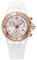 Technomarine Unisex 110033 Cruise Ceramic Chronograph White Dial Watch