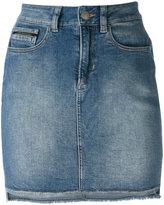 Calvin Klein Jeans high-waisted denim skirt - women - Cotton/Polyester/Spandex/Elastane - 28