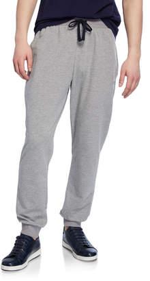 Emporio Armani Men's Classic Terry Drawstring Trousers