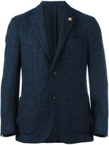 Lardini abstract pattern blazer