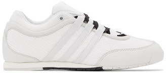 Y-3 White Boxing Sneakers