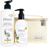 Akin A'kin Citrus Hand & Body Wash Duo