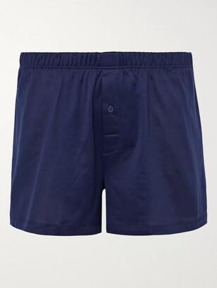 Hanro Sporty Mercerised Cotton Boxer Shorts