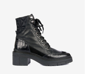 Unisa Jason Biker Boot - 37/UK 4 | black | leather - Black/Black