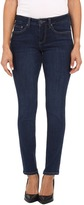 Jag Jeans Petite Petite Grant Mid Rise Slim in Blue Shadow