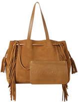 Gerard Darel Simple 2 Fun Leather Shoulder Bag, Camel