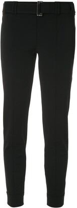Gloria Coelho Belted Cropped Trousers