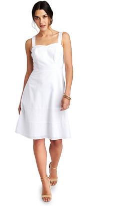 Vineyard Vines Seersucker Fit And Flare Dress