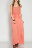 She + Sky Boho Two-Piece Maxi