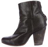 Rag & Bone Leather Newbury Ankle Boots