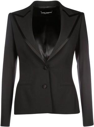 Dolce & Gabbana Trim Detail Tailored Blazer