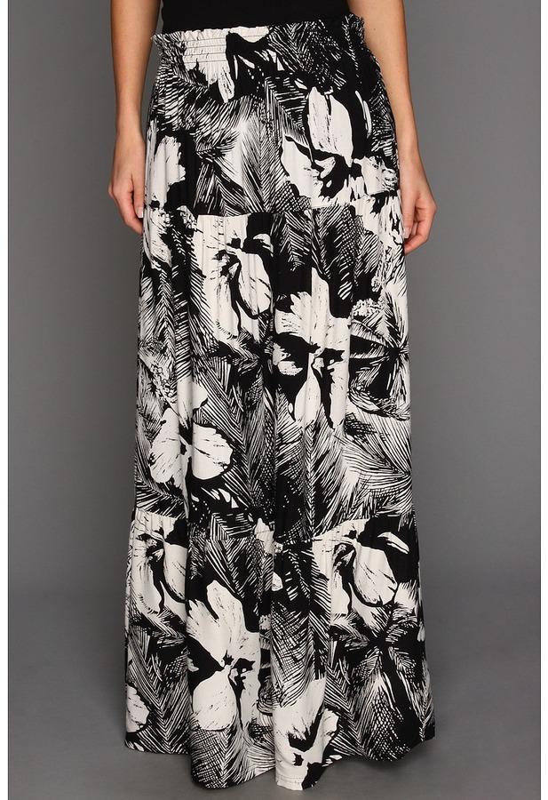 Roxy Above Deck 2 Skirt (True Black Print) - Apparel