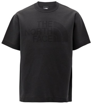 The North Face Black Series - Crew-neck Logo-knitted Jersey T-shirt - Black