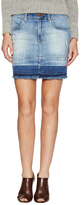 J Brand Lela Raw Hem Mini Skirt