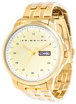 Ike Behar The Staple Gold Dial Watch, 42mm