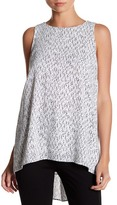 Vince Camuto Pleat Back Tank