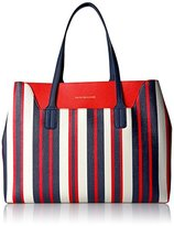 Tommy Hilfiger Th Adamaria Painted Stripes Tote