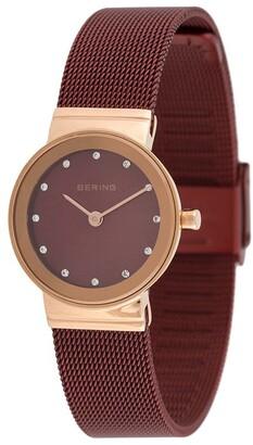 Bering Classic stud detail watch