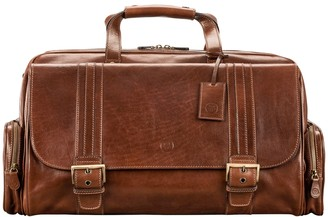 Maxwell Scott Bags Italian Crafted Tan Men S Leather Holdall