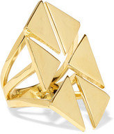 Noir Rivoli Gold-Tone Ring