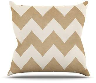 Biscotti East Urban Home and Cream by Catherine McDonald Outdoor Throw Pillow East Urban Home